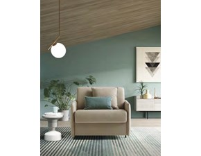 Poltrona letto in Tessuto Naxos Le comfort in Offerta Outlet