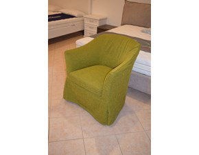 Poltrona con seduta fissa Green Mottes selection a prezzo scontato