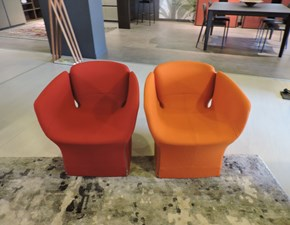 Poltrona in stile design Bloomy Moroso in Offerta Outlet