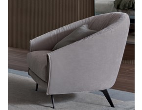 Poltrona in stile design Poltrona saddle Bonaldo in Offerta Outlet
