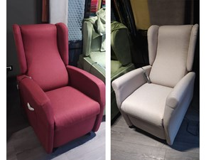 Poltrona in stile moderno Trilly Il benessere in Offerta Outlet