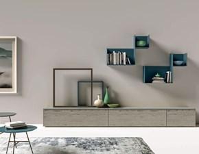 Mobile modello Day 115 soggiorno porta tv di Mottes selection in Offerta Outlet