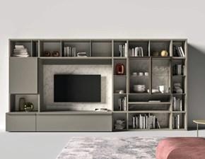 Mobile modello Day 122 soggiorno porta tv di Mottes selection in Offerta Outlet