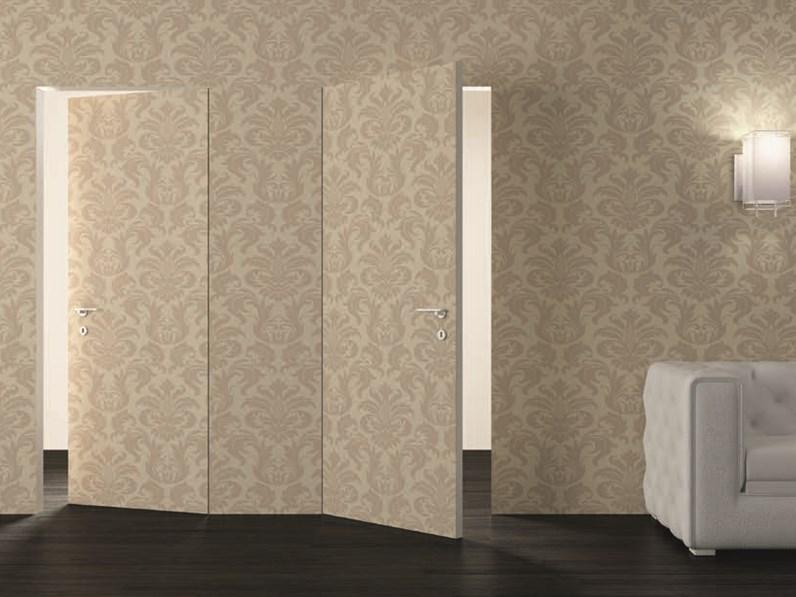 Porta a filo muro modello etere varie misure for Porta filo muro grezza