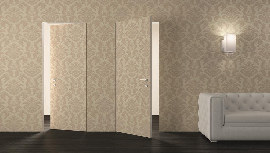 Porta a filo muro modello etere varie misure porte a - Porta a filo muro prezzi ...