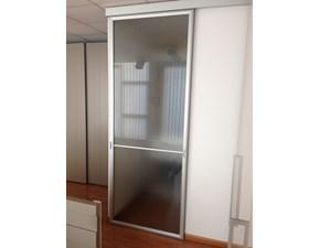 Porta a vetro unico  a prezzo ribassato in alluminio