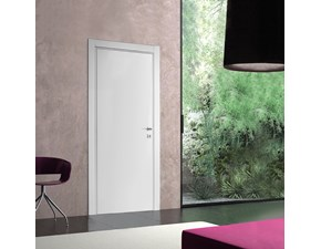 Barausse - porta battente moderna blanc on feel plus (ambientata)