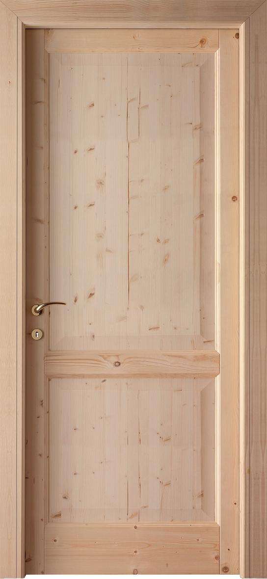 Porta bienne porte garda 902 pino grezzo scontato del 78 for Porte in legno grezzo