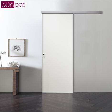 Porta bunpat scorrevole esterno muro colore bianco - Porte scorrevole esterno muro ...