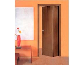 Porta liscia  a soffietto Libro asimmetrica in legno  Fioravazzi in Offerta