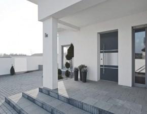 Porta liscia  battente Blindata 83.dom in alluminio  Metalnova in Offerta