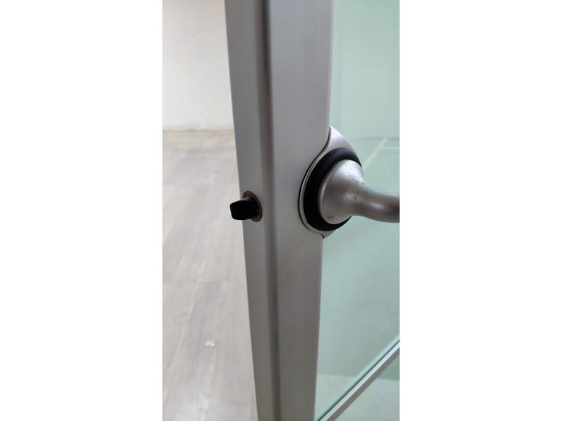 Porta liscia battente rimadesio in alluminio a prezzo outlet for Rimadesio outlet