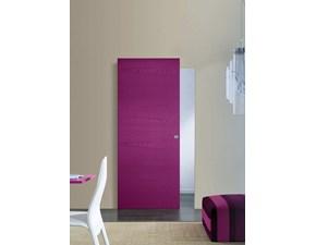 Porta liscia  scorrevole Porta scorrevole filo muro su misura mottes mobili in laminato  Gd dorigo in Offerta