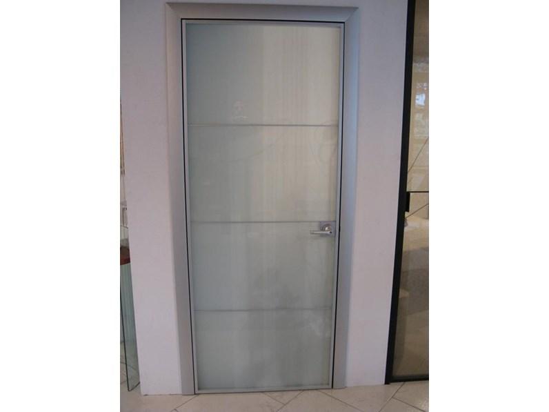 Longhi porta vetro satinato scontato del 62 for Longhi arredamenti