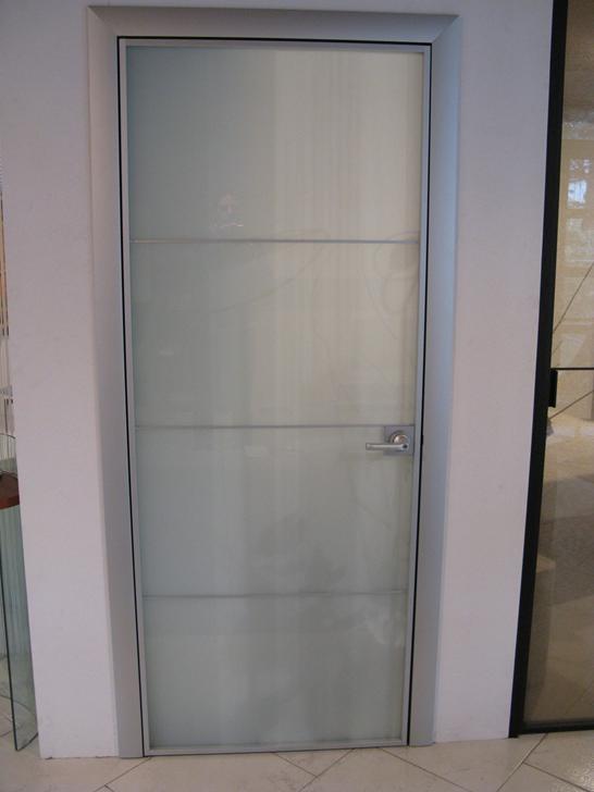Longhi porta vetro satinato scontato del 62 porte a - Porta scorrevole vetro satinato ...