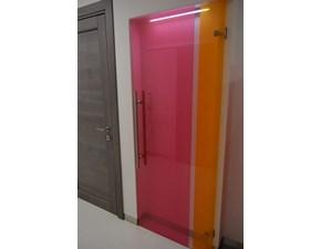 Porta moderna Artigianale Casali bicolor apricot & cherry SCONTATA