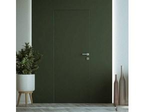 Porta moderna Artigianale Marca scrigno - porta battente filo muro scrigno filo 44 - filo parete da verniciare in opera SCONTATA