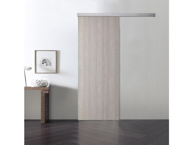 Porta scorrevole esterno muro di bienne porte scontata - Porta scorrevole esterno muro prezzo ...