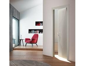 Porta moderna in laccato  Artigianale Fioravazzi modello ala incisa in Offerta Outlet