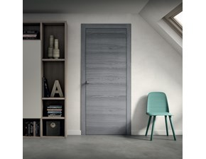 Porta moderna in laminato  Artigianale Interlegno design in Offerta Outlet