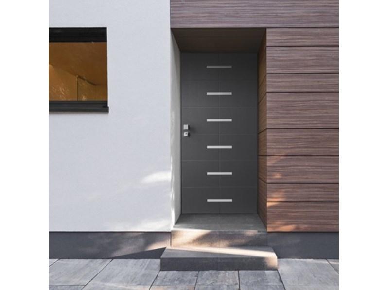 Porta moderna in laminato Metalnova Serie 83.dom blindata a prezzo scontato