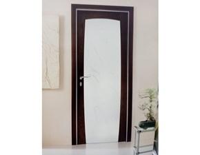 Porta moderna in legno  Artigianale Ellisse a prezzo Outlet