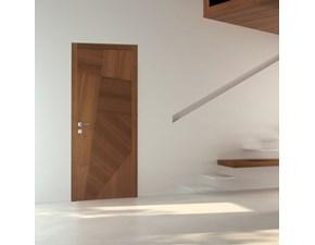 Porta moderna in legno  Fioravazzi Fl noce canaletto in Offerta Outlet