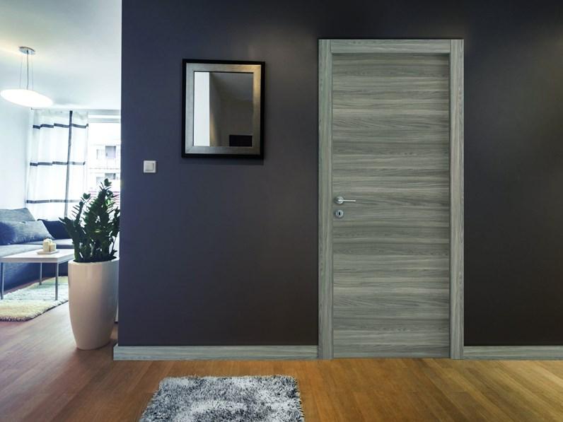 Porta porta interna in laminato materico mottes mobili gd dorigo in offerta outlet - Prezzo porta interna ...