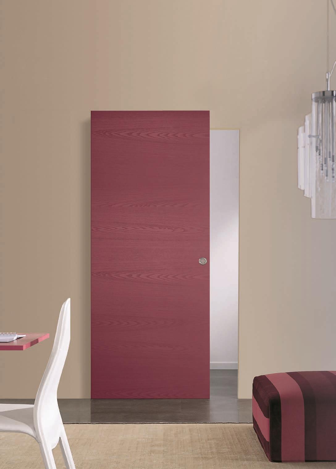 Porta scorrevole filo muro mu misura e personalizzabile porte a prezzi scontati - Porte scorrevoli interno muro prezzi ...