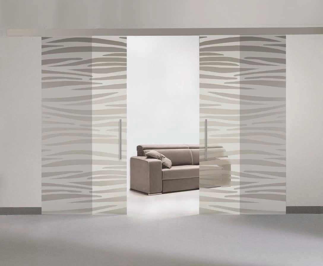 Porte in vetro serigrafate su misura personalizzabili porte a prezzi scontati - Porte gd dorigo ...
