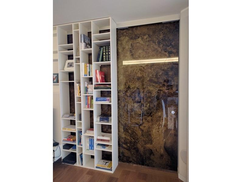 Porte vetro scorrevoli,decorate marmo,produzione Glamour Design