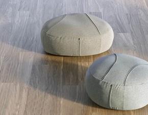 Pouf modello Sassi moderno Doimo salotti a PREZZI OUTLET