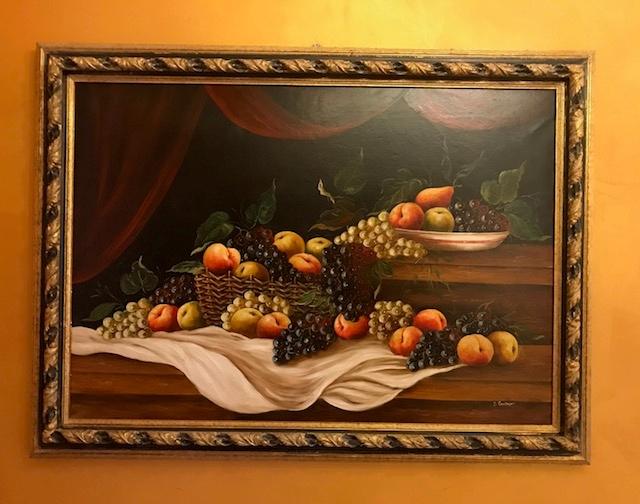 Dipinto Natura morta olio su tela di S. Cantadori prezzo scontato ...