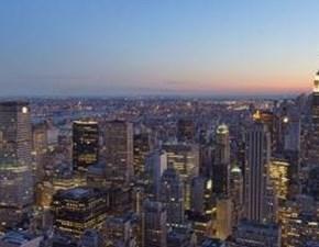 Magnifico quadro paesaggio New york at night Bubola&naibo a prezzo Outlet
