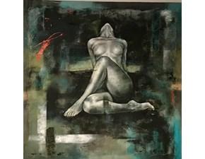 """Quadro astratto """"dark room"""" di rubiero marco - sikrea galleria d'arte Artigianale in Offerta Outlet"""