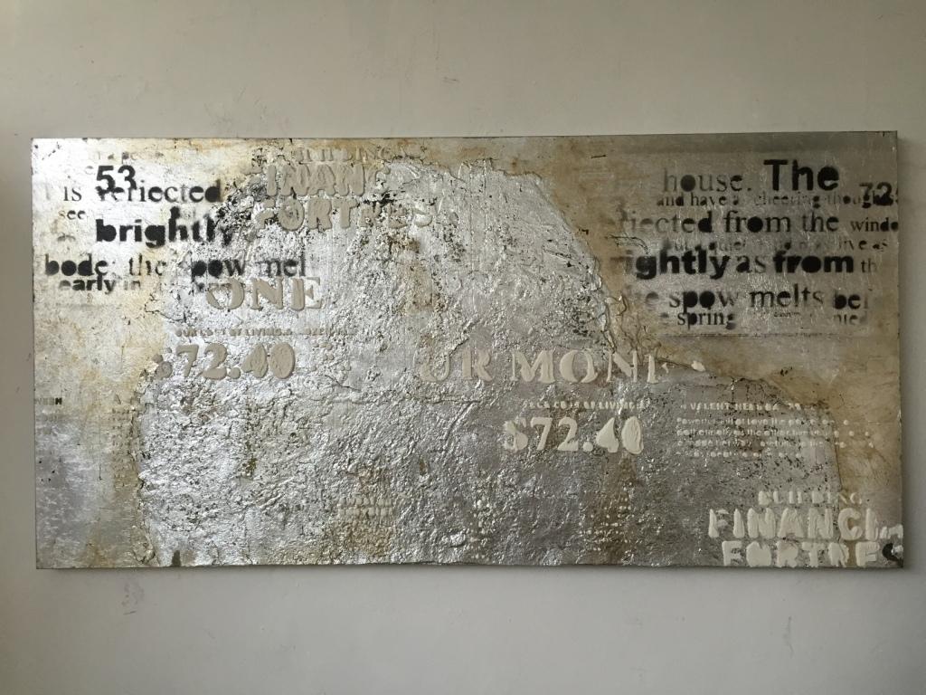 Quadro astratto argento quadri moderni a prezzi scontati Quadri moderni arredamento prezzi
