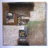quadro astratto collage