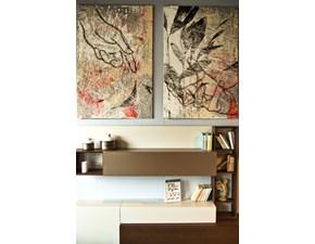 Quadro astratto Dipinto su tela Artigianale con forte sconto