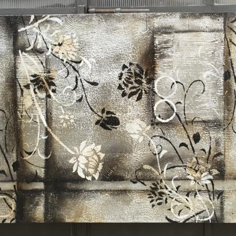 Quadro astratto moderno argento quadri moderni a prezzi for Quadri in argento