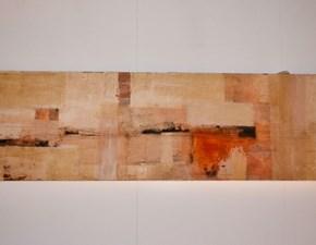 Quadro Colore acrilico, carta velina e gesso con un ribasso del 50%