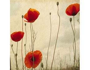 Quadro con fiori Papaveri Pintdecor con forte sconto