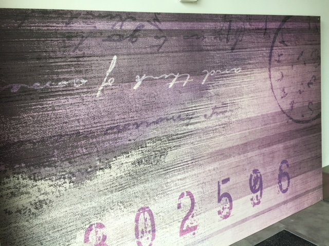Quadro di carta artistica decorata su pannello in legno for Carta da parati artistica