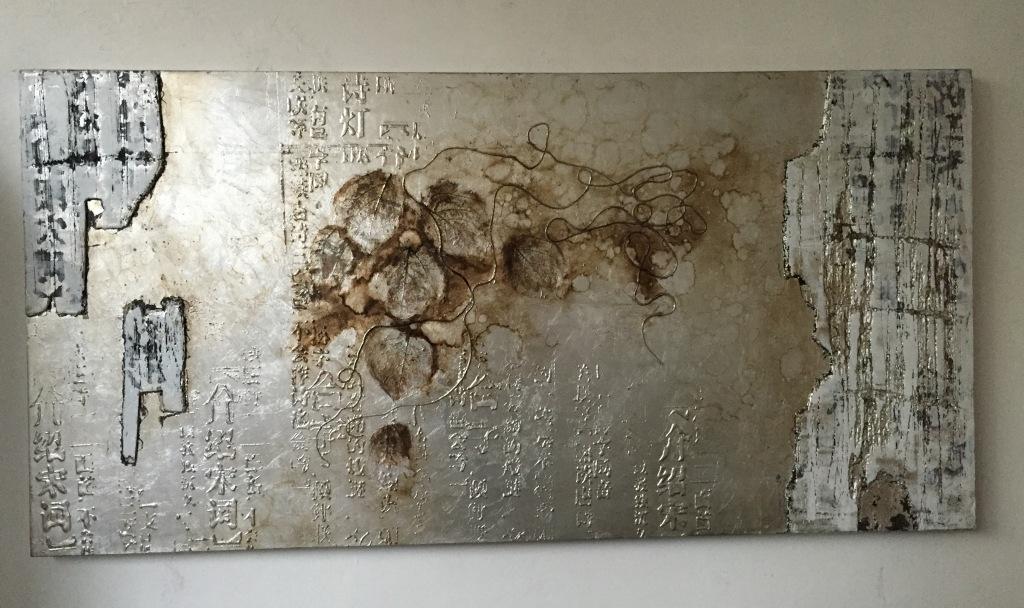 Quadro moderno astratto argento quadri moderni a prezzi for Quadri in argento
