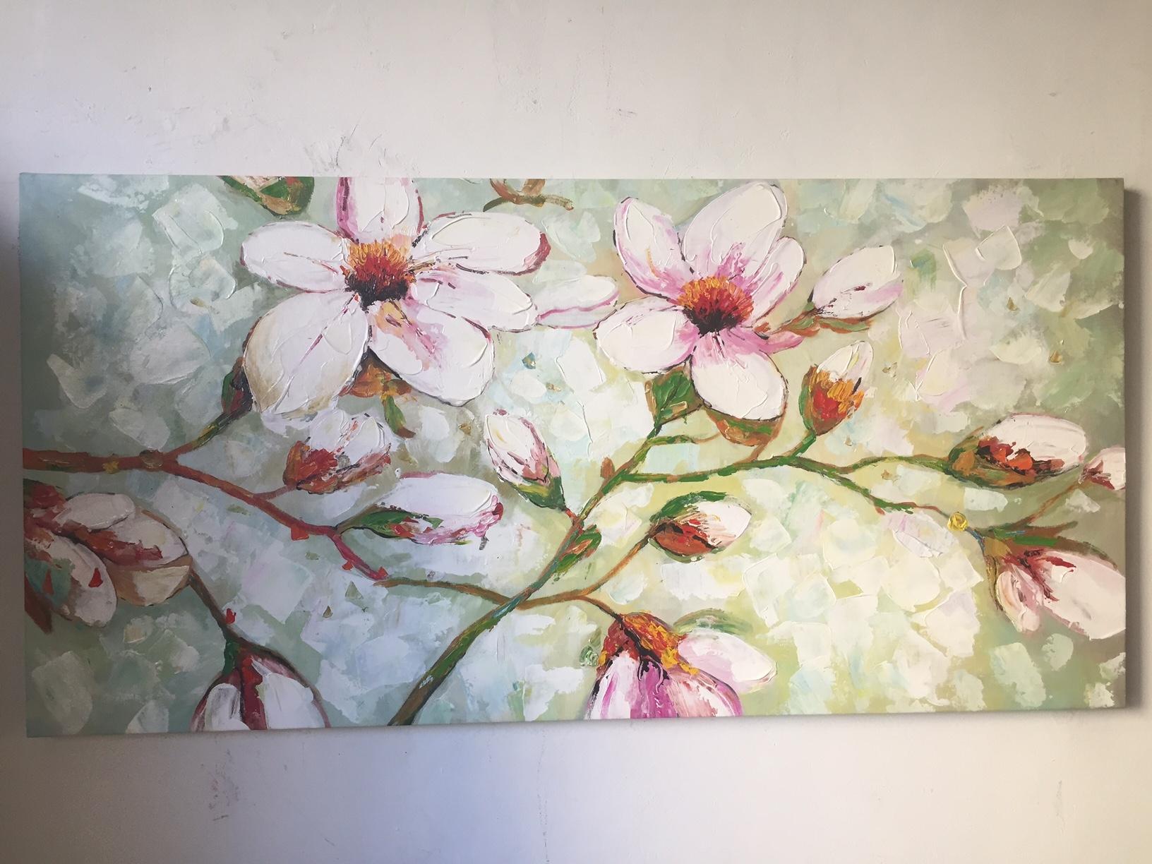 quadro moderno con fiori - Quadri moderni a prezzi scontati