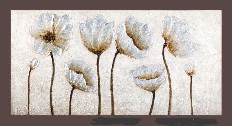 Quadro moderno floreale quadri moderni a prezzi scontati for Quadri fiori olio