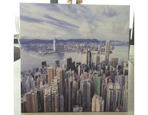 Quadro paesaggio Hong kong Manie in Offerta Outlet