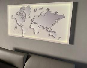 Quadro paesaggio Orologio su quadro 3d globe con led Pintdecor a prezzi convenienti