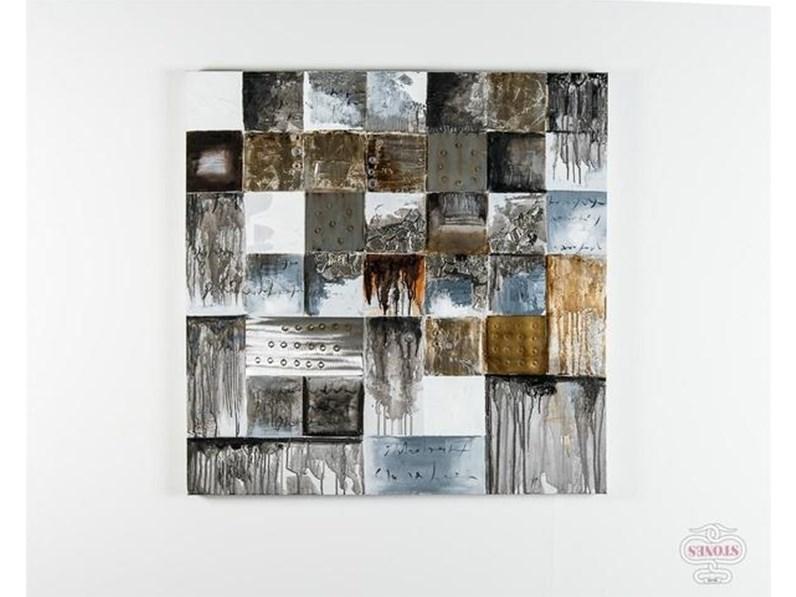 Splendido quadro astratto stones in offerta outlet for Aurelia arredamenti