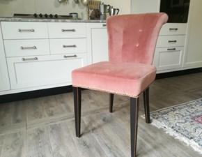 4 Poltroncine in velluto rosa  Dialma brown a prezzo ribassato