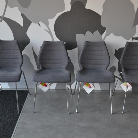 4 sedie kartell maui soft grigia sedie a prezzi scontati for Maui design camerette